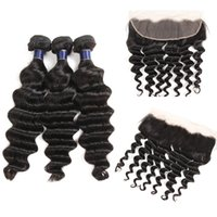 Unprocessed Malaysian Brazilian Loose Wave Hair Weaves With ...