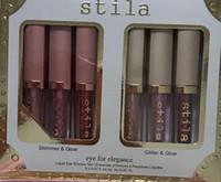 New Brand Trucco Stila Eye for Elegance Set Shimmer Glitter Liquido Eyeshadow 6pcs Set da viaggio Set Glow Eye Shadow Trucco