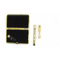 Kit Cigarros Eletrônicos de ouro Kit 280 mAh Carregador de Bateria O Pen Bud Toque E Cartuchos CIG Vape Bateria CE3 Cartucho