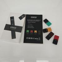 COCO курение эволюционировала Vape Pen 220 мАч ультра портативный Vape Pen Starter Kit пустой стручок испаритель комплекты для пара Pod картридж