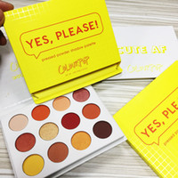 New Colourpop Yes Please Eye Shadow Palette 12 Colors Shimme...