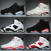 New Bred 6 6s Herren Retro Basketball Schuhe Tinker UNC Black Cat Infrarot Weiß Carmine Herren Designer Trainer Sport Athletic Sneakers