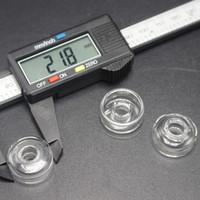 Sigara için Petrol Kuyuları Cam Suyu Bong İçin Hibrid Titanyum Nail Out Çap 21.8mm ve 25mm için% 100 Gerçek Kuvars Bulaşık