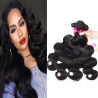 9a Перуанские девственницы человеческие волосы пучки для волос тела прямая свободная волна kinky вьющиеся глубокая волна 100% необработанные бразильские перуанские индийские волосы