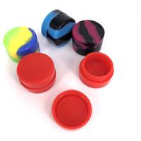 FDA одобрил 3 мл/5 мл/7 мл круглый Силиконовый контейнер антипригарное пятно богатые цвета воск силиконовые банки для воска dabber инструмент enail henail plus