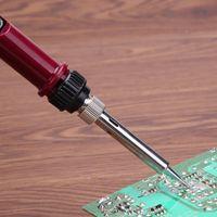 80 واط lcd الكهربائية لحام الحديد القلم مكافحة ساكنة تعديل الحرارة لحام أداة لحام محطة إصلاح أداة
