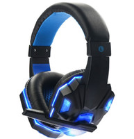 Wired LED Gaming Headphhone Headset Gamer Economici 3.5mm Auricolare Gioco Cuffie Con Microfono Per PC Computer Portatile Smart Phone di Alta Qualità
