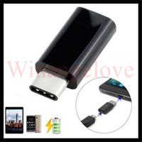 마이크로 USB Female-Type-C Typec c Male 케이블 USB 3.1 어댑터 충전기 데이터 동기화 변환기 Macbook 용 Samsung Note 7 OnePlus
