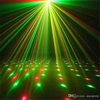 Portátil IR Remote RG Meteor Láves Láser Luces LED DJ KTV Inicio Fiesta de Navidad Dsico Show Lighting Oi100b