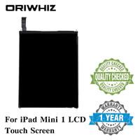 Oriwhiz Yüksek Kalite LCD Dokunmatik Ekran LCD Değiştirme iPad Mini 1/2 Sayısallaştırıcı Meclisi olmadan Homebutton ve Tutkal