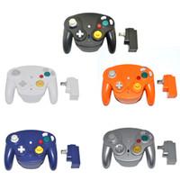 NGC 용 GameCube 용 2.4GHz Bluetooth 컨트롤러 무선 게임 패드 조이스틱