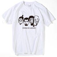 System Of A Down SOAD Männer-T-Shirt 2018 ROCK METAL MUSIC Männer Frauen überwinden Tops T-Shirt plus Größe S-XXXL