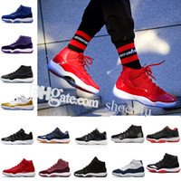 2018 11 Gym Red Space Jam Concord Basketball Shoes For Men W...