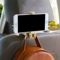 Car Back Seat Hook Auto Headrest Hook Hanger Purse Bag Holde...