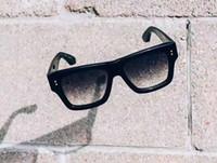 투명 렌즈 Gafas 드 졸 선글라스 선글라스 UV400 렌즈 안경 뉴스 클래식 블랙 크리에이터 선글라스 회색