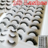 16 pairs of lashes book 3D Faux mink lashes 3D lashes book f...