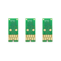 T6710 Chip de tanque de mantenimiento de tinta residual para Epson WorkForce Pro WF-5190 WF-5690 WF-4630 WF-5110 WF-5620 WP-4010 WP-4520