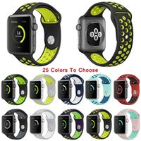 Colorfull Sports Silicone Strap For Apple Watch iWatch Serie...