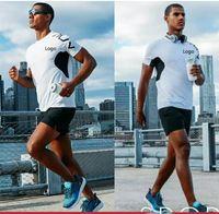 الرجال القمصان الرجال النساء العلامة التجارية عارضة الرياضية نمط مصمم بلايز الصيف الذكور الإناث سريعة الجافة الطاقم الرقبة قصيرة الأكمام تيز
