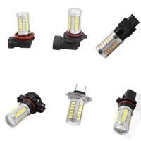 2 peças H11 H8 H4 9005 9006 H7 DIODO EMISSOR de Luz Lâmpada 5630 33 SMD Nevoeiro Condução DRL lâmpada