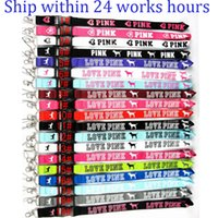 LOVE PINK Cell Phone Straps Lanyard 19 colors Necklace Chain...