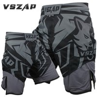 2018 New VSZAP SHADOW HUNTER Shorts MMA Fitness Combat Fight Wear Thai Sanda High Quality Does Not Fade Brand Clothing VS015