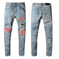 Jean skinny pour hommes Jeans Camouflage Jeans Jeans Camouflage Jeans