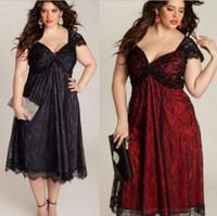 Été Sexy Femmes dentelle patchwork Robe V Cou Floral Dentelle Paty Robes Plus La Taille Robe 5XL Vêtements Vestidos