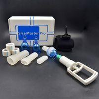 Taglia Master Pro MAX Maschio ENTRATA PENIS Estensione della barella Ampliamento della pompa di estensione del gancio con supporto per il vuoto SizeMaster