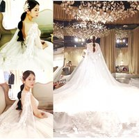 Luxurious Vintage A- Line Wedding Dresses Jewel Neck Portrait...