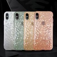Brillante a prueba de golpes Funda transparente para teléfono para iPhone X XS XS MAX XR 8 7 6 Plus Funda de gel suave de TPU Cubierta trasera transparente