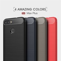 Carbon Fiber Brushed Phone case for ASUS Zenfone Max Plus ZB...