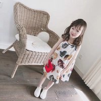 New 2018 Girls Summer Dress Kids Clothes Girls Party Dress C...