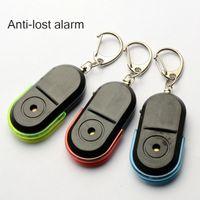 CDT 3 stücke Neue Drahtlose 10 mt Anti-verlorene Alarm Key Finder Locator Keychain Whistle Sound Mit LED-Licht Mini Anti Verlor Schlüsselsucher