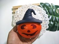 2018 New Cute Halloween hat pumpkin slow rebound Straps Soft...