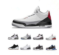 2018 Hot Sale Black White Grey Cement City Infrared 3 Sports...