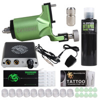 Complete Tattoo Kit Extreme Rotary Machine Power Supply OCTO...