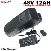 Envío gratis batería de litio recargable 48V 12AH para Bafang 600W motor E-bike batería de litio E-Scooter batería 13S 48V