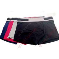 Moda Hombres Boxer Ropa interior Pantalones cortos hombre calzoncillos atractivos de la ropa interior para hombre corto ocasional del pene masculino ropa interior cómoda Gay