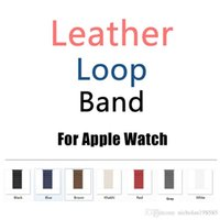 Epacket 1pcs UP for 1 2 3 Apple Watch Soft Leather Strap iwa...