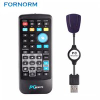 Fornorm Wireless Fly Mouse USB Remote Controller Smart Contr...