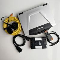 V12.2020 usados laptop militar CF52 I5 4G Resistente Computadores Tablet + ICOM Próximo para BMW 720Gbssd / 1TB HDD Car Auto Repair Ferramenta de diagnóstico