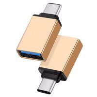 Mini Tipo C USB 3.1 OTG Maschio A Convertitore USB Tipo C 3.0 Adattatore Connettore per Xiaomi Huawei Samsung Meizu LE