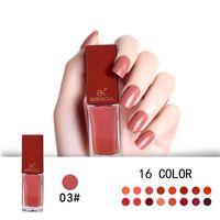 Nya pumpa färger serie stämpling nagellack långvarig snabbt torr nagellack 16 färger stämpel emalj måla 9 ml gratis frakt