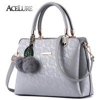 ACELURE Women Fur Handbags 2018 High Quality Printing Women ...
