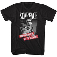 Newest 2018 MEN' S OFFICIAL Scarface Movie AL PACINO T- S...