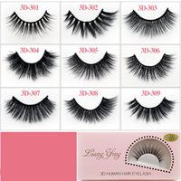 3D Eyelash Eyelashes Extension Eye Makeup Natural Thick Fals...