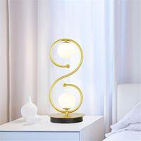 간단한 현대 크리스탈 테이블 램프 고급 조명 창조적 인 침실 침대 옆 램프 결혼 결혼식 룸 장식 테이블 lampSimple 북유럽 집