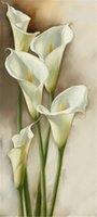 Mosaic home decoration flower calla Lily diy diamond paintin...