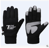 Wholesale- 2015 men and women outdoor sports warm touch glove...